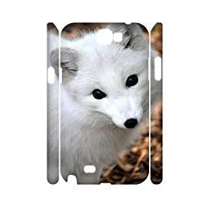 case Of Fox Customized Hard Case For Samsung Galaxy Note 2 N7100 by icecream design