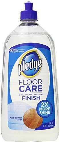 Pledge Floor Care, Multi-Surface Finish, 27-Ounce Bottles (Pack of 6) by Pledge