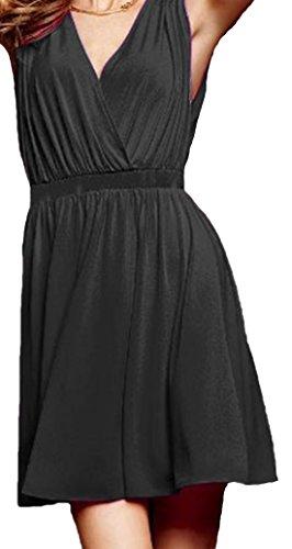 erdbeerloft - Camisas - Túnica - Sin mangas - Opaco - para mujer negro