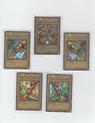 Promo 5 Card Set (YuGiOh Promo 5-Card Set Exodia the Forbidden One)