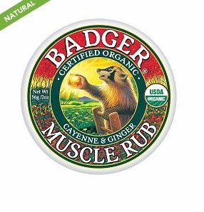 Balm, Sore Muscle Rub 2 oz (56 g) by Badger (Pack of 5)