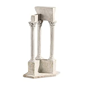 Design Toscano AH22817 Roman Forum Temple of Vespasian Corner Column in Stone