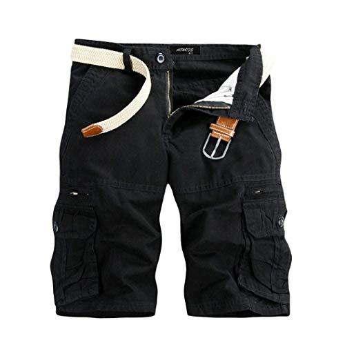 Pants N Avec Chino Half Shorts D'été Pantalons Bermudes Vêtements Cargo Courts Fête Vintage Lannister Summer De Pour Fashion Hommes Poches Schwarz wFqW6xHpU