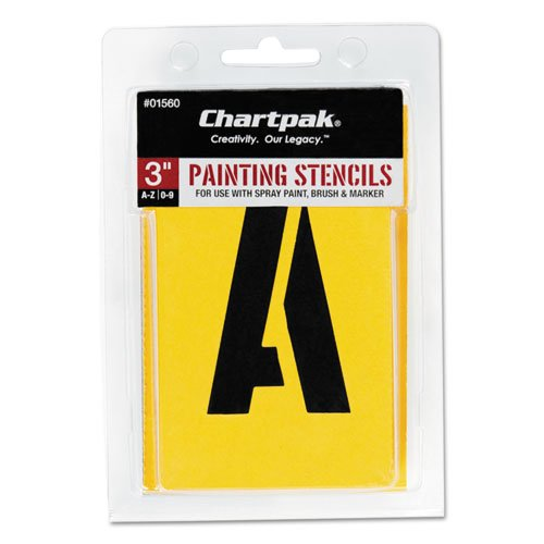 (Painting Stencil Numbers/Letters, 3