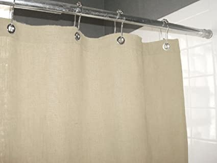 Bean Products Hemp Shower Curtain 9 Oz Fabric