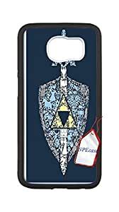 2015 popular The legend of zelda Case for Samsung Galaxy S6,The Legend of Zelda artwork phone Case for Samsung Galaxy S6.