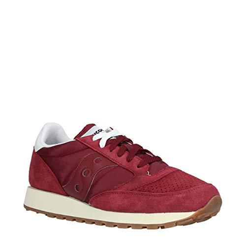 Scarpe Rosso Original Sneakers Saucony Bordeaux Vintage Jazz 1 S70419 Uomo wSSYTzq