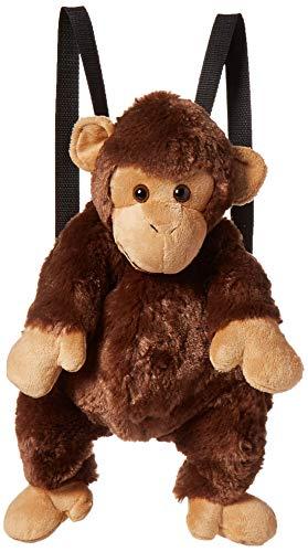 [해외]Fiesta Toys Travel Buddy 16 Monkey Plush Backpack / Fiesta Toys Travel Buddy 16 Monkey Plush Backpack