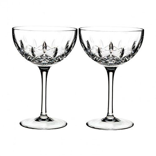 Waterford Set of 2 Lismore Pops Cocktail Glasses