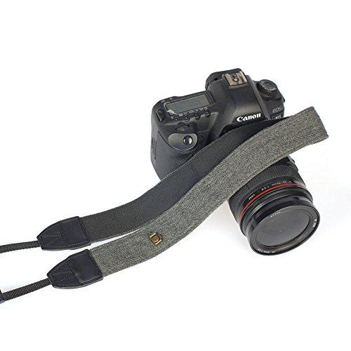 Andoer Camera Shoulder Neck Vintage Strap Belt for Sony Nikon Canon Olympus Panasonic Pentax DSLR SLR