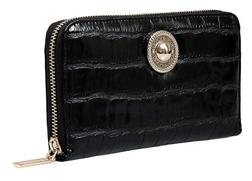 Versace EE3VSBPO1 E899 Black Wallet for Womens