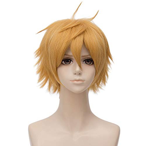 Probeauty Anime Cosplay Cells at Work Costume Wig Halloween Carnival Party Wigs (Killer T Cell) -