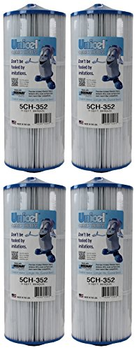 Unicel 5CH-352-4 Replacement Filter Cartridge (4 Pack) by Unicel