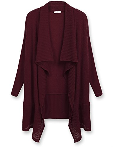 J TOMSON Womens Sleeve Draped Cardigan