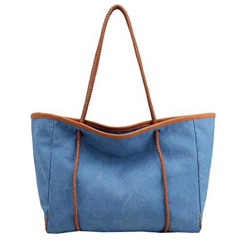 Porter À L'épaule Taille Pour Sac Femme Acvip Unique Bleu xSvqgfI