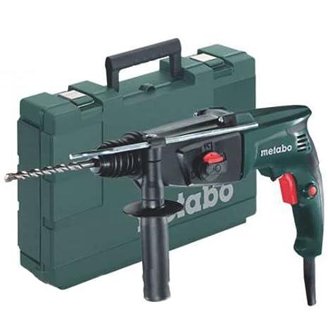 Metabo 6.06154.00 Martillo, 800 W, 240 V, Negro, Verde: Amazon.es: Bricolaje y herramientas