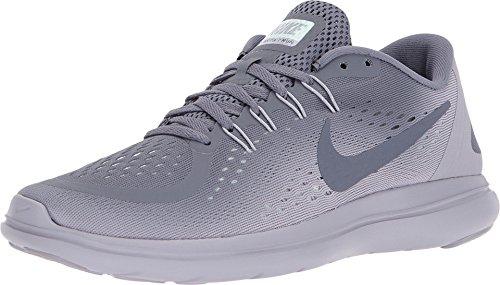Nike Women's Flex 2017 RN Running Shoe (6, Light Carbon/Light -