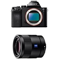 Sony a7 Full-Frame Interchangeable Digital Lens Camera - Body Only w/ 55mm f1.8