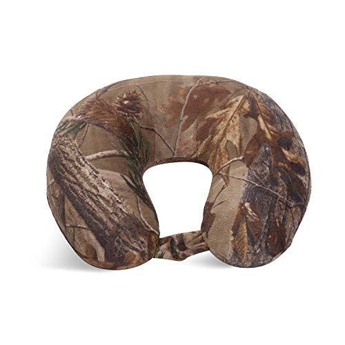 World's Best Feather Soft Microfiber Neck Pillow, Camouflage