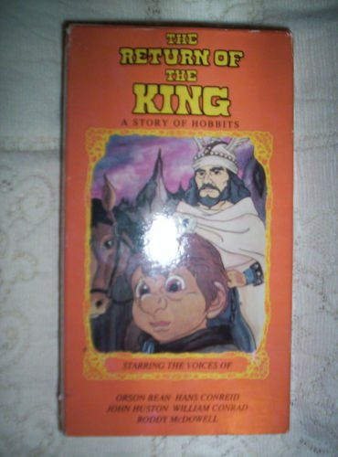 The Return of the King: A Story of Hobbits - Starring the Voices of Orson Bean, Hans Conreid, John Huston, William Conrad and Roddy McDowell