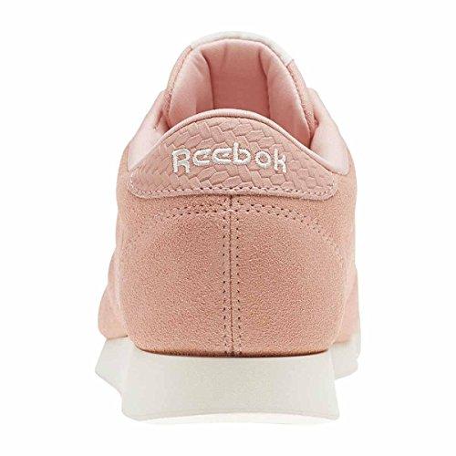 Reebok Princess Woven Emb–Scarpe da ginnastica, Donna, Rosa (Sweet Pink/Chalk)