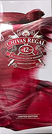 Chivas Brothers Ltd Chivas Regal 12 Years Old Blended Scotch Whisky MANCHESTER UNITED Limited Edition 40% Vol. 0,7l in Tinbox - 700 ml