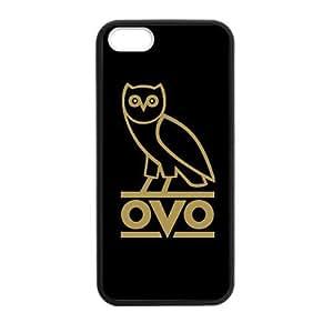 Ovo Drakeovo Drake Back Custom Plastic Case Cover For Iphone 5,5S Tpu (Laser Technology)