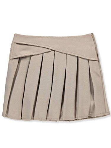 U.S. Polo Assn.. Little Girls' Scooter Skirt - Khaki, 6 by U.S. Polo Assn.
