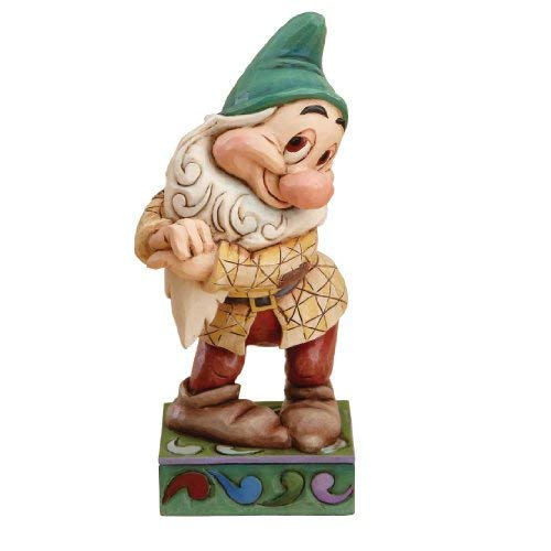 New 2007 Jim Shore - Disney Traditions designed by Jim Shore for Enesco Bashful Figurine 4.5 IN
