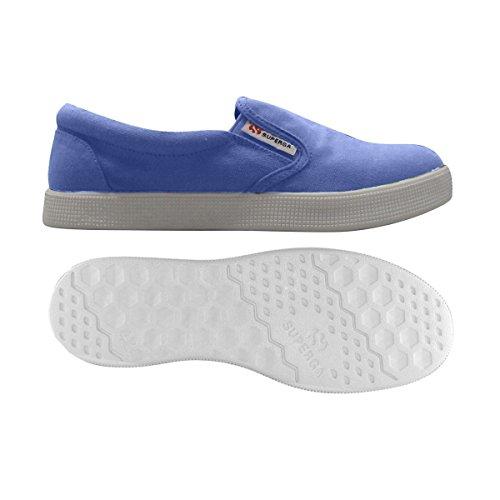 Iris Cotu Sneaker Basse Blue Blu 4498 Donna Blu Superga f4wCRq8nx