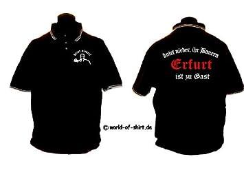 World-of-Shirt Herren Sweatshirt Frankfurt Ultras kniet nieder