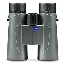 ZEISS 524204 9907 10 x 42mm TERRA ED Binoculars (Cool Gray)
