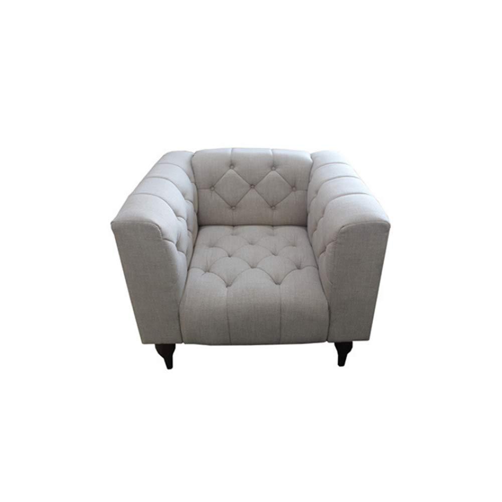 MIKEWEI Muebles Diseño Moderno Tela Sala De Estar Lino Nuevo ...