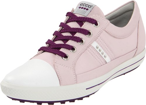 ECCO Women's Street 1 Golf Shoe,White/Pale Lilac,41 EU/10-10.5 M US by ECCO
