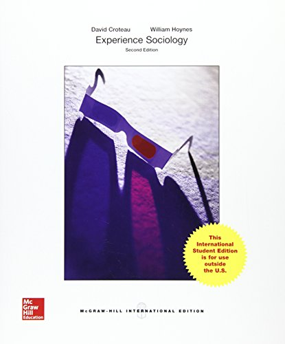 Experience Sociology (Int'l Ed)