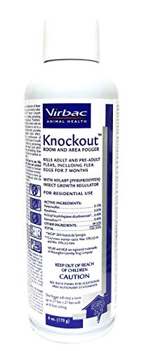 (Virbac Knockout Room Fogger, 6 oz)