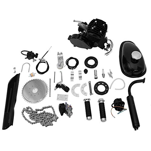 - Lebeauty Bicycle Engine Kit 2-Stroke Gas Motorized Bike Motor Kit Upgrade Engine Kit Set Black
