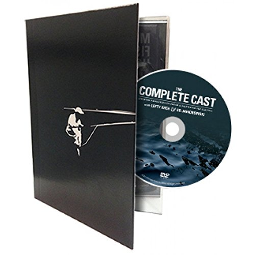 The Complete Cast - Applying Principles to Fresh & Saltwater Fly Casting - Collector's Edition contains both Blu-ray and Standard Definition discs