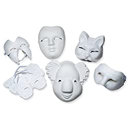 Pacon Assorted Paperboard Mask
