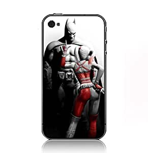 Batman Harley Quinn Arkham City case for Iphone 5 with black sidecover 62947