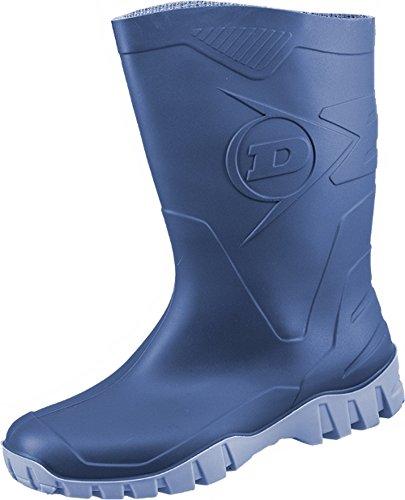 """508/A PVC Stiefel """"Dee"""" halbhoch blau"""