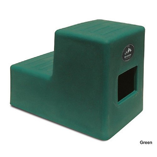 High Country Plastics MS-19FG Two Mounting Step, Medium/19, Forest Green by High Country Plastics