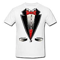 Fresh Tees Brand- Tuxedo With Bowtie T-Shirt Funny Shirts