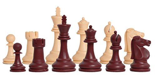 The House of Staunton - The Reykjavik Plastic Chess Set - Pieces Only - 3.75