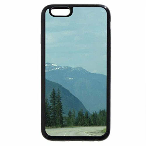 iPhone 6S / iPhone 6 Case (Black) The Rockies mountains in BC - Canada 72