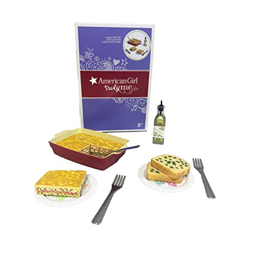 (American Girl Truly Me Lasagne Dinner Set for 18