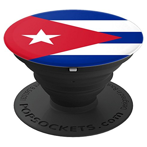 Cuban Flag of Cuba - PopSockets Grip and Stand for Phones and Tablets -