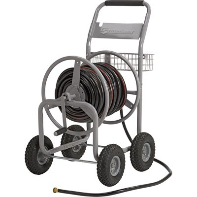 Strongway Garden Hose Reel Cart - Holds 400ft. x 5/8in. Hose