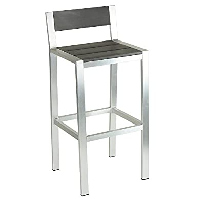 Cortesi Home Haven Aluminum Outdoor Barstool