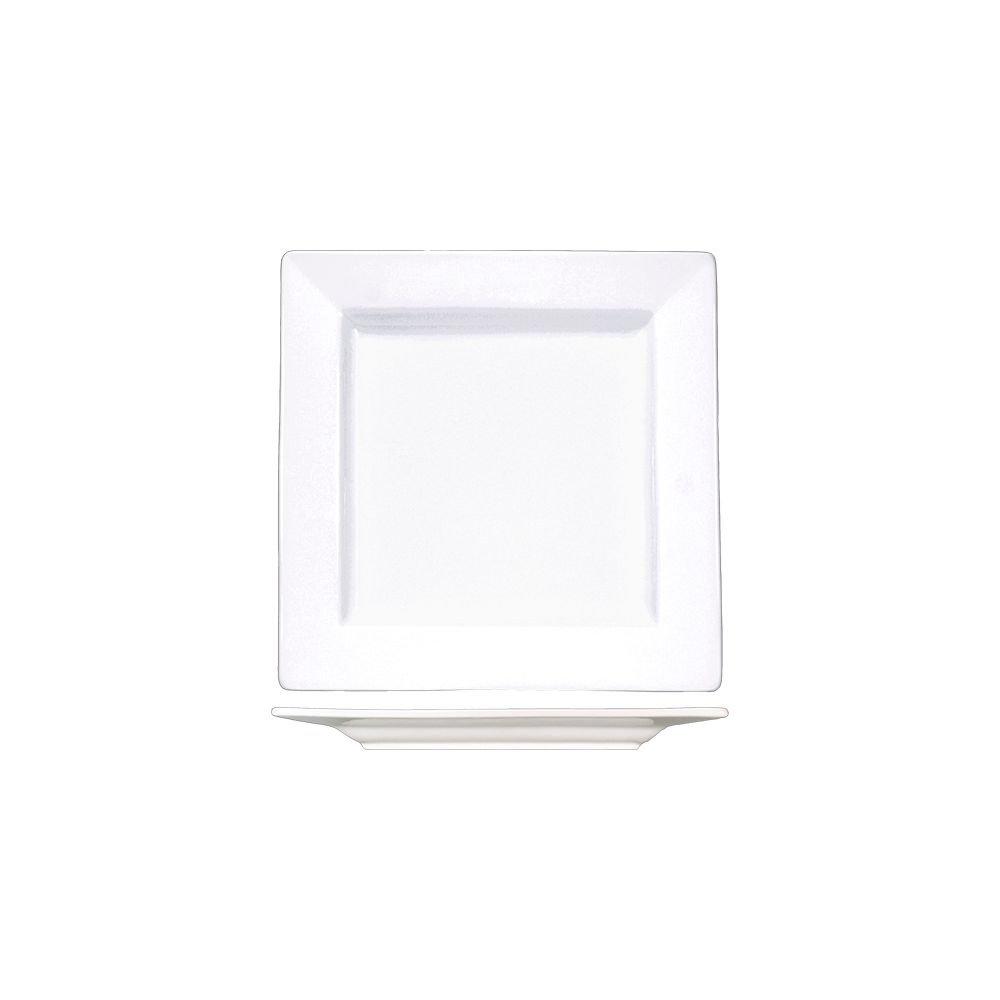 International Tableware EL-10 Elite 10.75'' Square Plate - 12 / CS